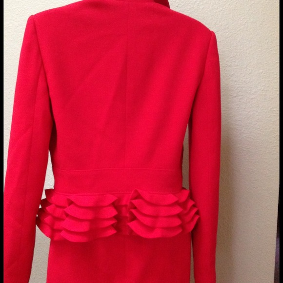94% off Valentino Outerwear - MAKE AN OFFER! Valentino red pencil ...