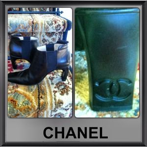 Authentic Chanel boots, 36