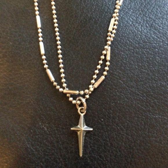 Premier design premier design silver cross necklace for Premier jewelry cross ring