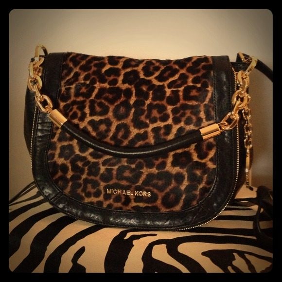 43365462df73 MICHAEL Michael Kors Bags | Michael Kors Leopard Bag | Poshmark