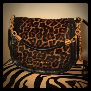 Michael Kors Leopard Bag