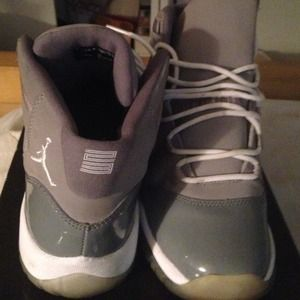 Nike Shoes - Air Jordan Retro II size 6.5 Cool Grey SOLD!