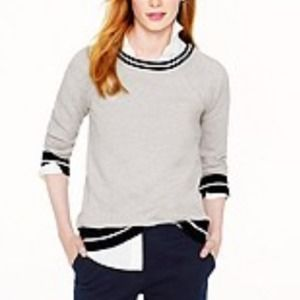 J. Crew Sweaters - Lovely J.Crew Tipped Sweatshirt💞