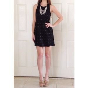 NWOT! Black lace dress