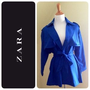 NWT Zara Trench Coat