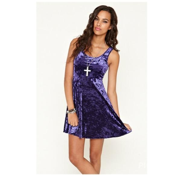 Velvet Tank Swing Dress