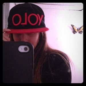 Other - YOLO Snap back ❌sold in yard sale