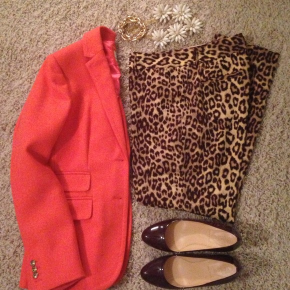 Banana Republic Pants - Beautiful leopard print pants!