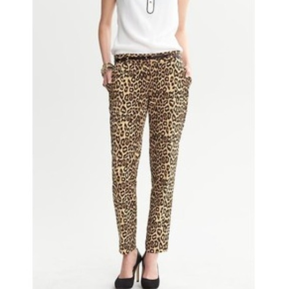 Banana Republic Pants - Beautiful leopard print pants! 2