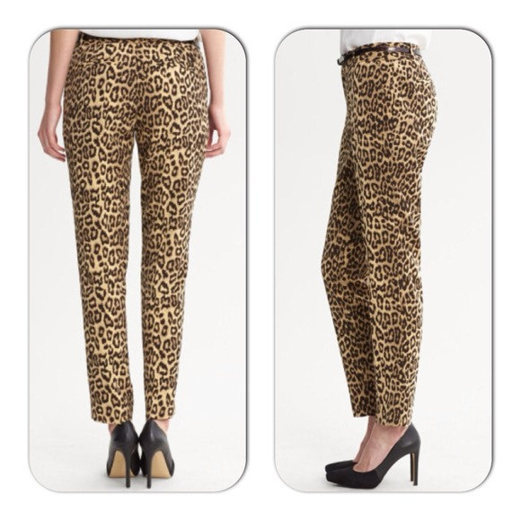 Banana Republic Pants - Beautiful leopard print pants! 3