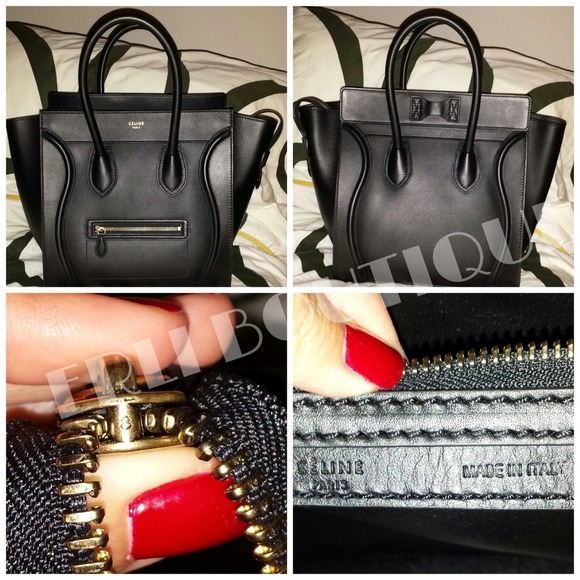 celine bag luggage micro