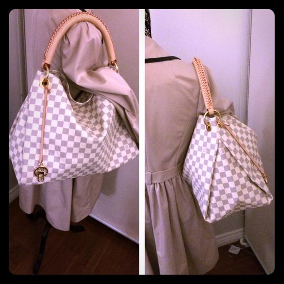 Louis Vuitton Neverfull Damier Azur Ebay