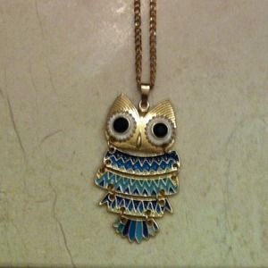 NONE Jewelry - Long Owl Necklace
