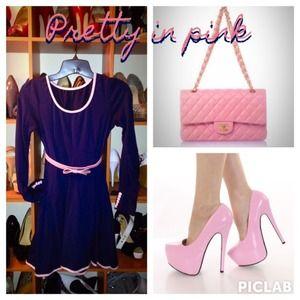 Dresses & Skirts - NWOT ✨skater dress as seen on Kate Middleton