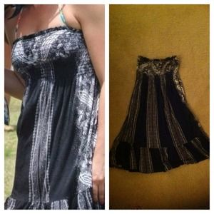 Nordstrom BP Black & White Dress