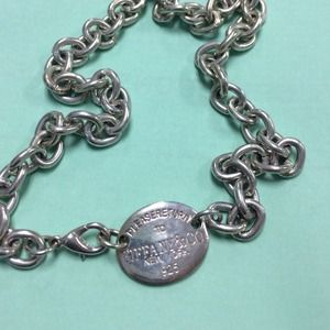 Two tiffany&co necklace