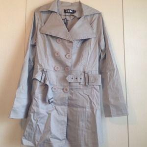 Jackets & Blazers - SOLD !!!   Beautiful grey coat
