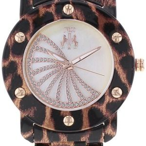 Jivago Accessories - Jivago Leopard, Crystal Rose Gold Watch
