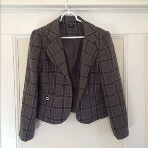 Like New: Women's Mossimo Plaid Blazer Size M