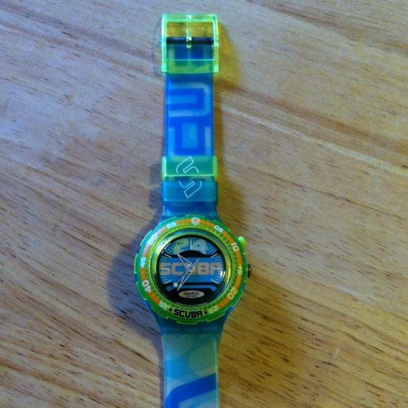 Часы Swatch scuba купить в Москве на Avito