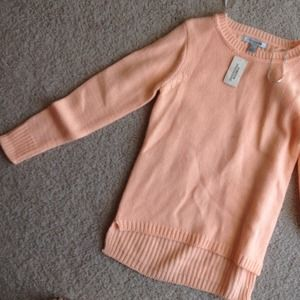 Brand New Peach Sweater