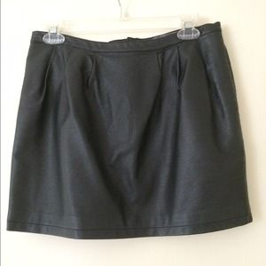Forever 21 faux leather mini skirt