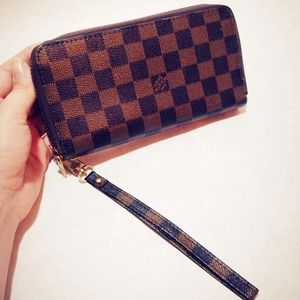 Cute Wallet Double Zipper