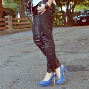 bebe Pants - 100% Leather Pants