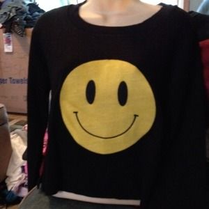 Sweaters - Very cute smiley sweater NEW