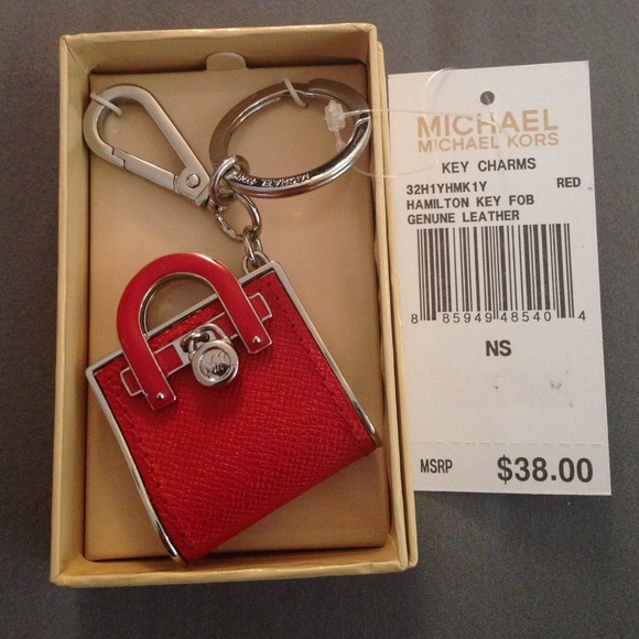 0bdafaec8aed Michael Kors Accessories | On Hold Red Handbag Keychain | Poshmark