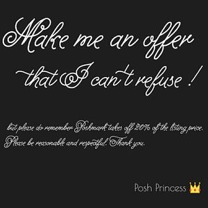 Other - A letter from Posh Princess 4.8