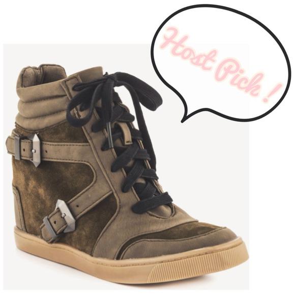 Salesam Edelman Wedge Sneaker | Poshmark