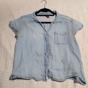 H&M blue blouse