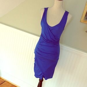 Ocean blue wiggle dress NWT