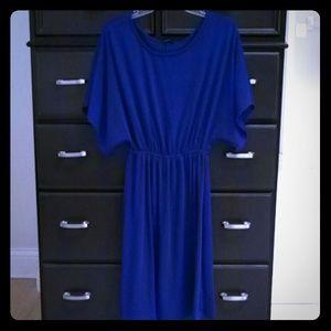 Blue Boho Chic Dress