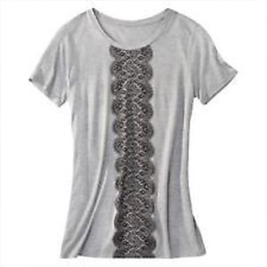 Jason Wu for Target Grey Lace Tee