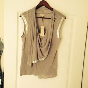banana republic heritage Tops - Banana Republic Heritage Blouse, size M, Grey