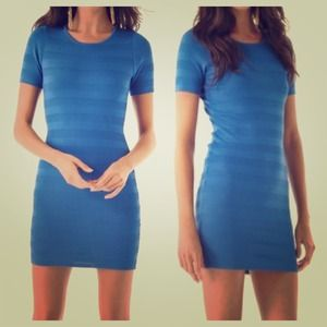 Torn by Ronny Kobo Dresses & Skirts - Bold Blue Torn by Ronny Kobo Mini Dress