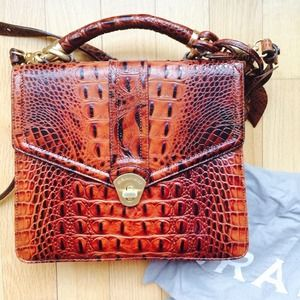 Brahmin Olivia Rose Satchel - like new!