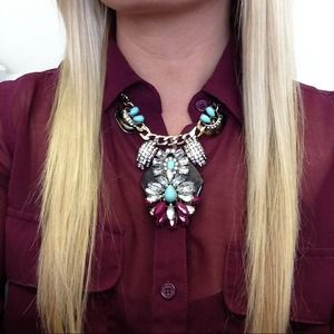 Jewelry - ((((( sold))))))))Statement necklace