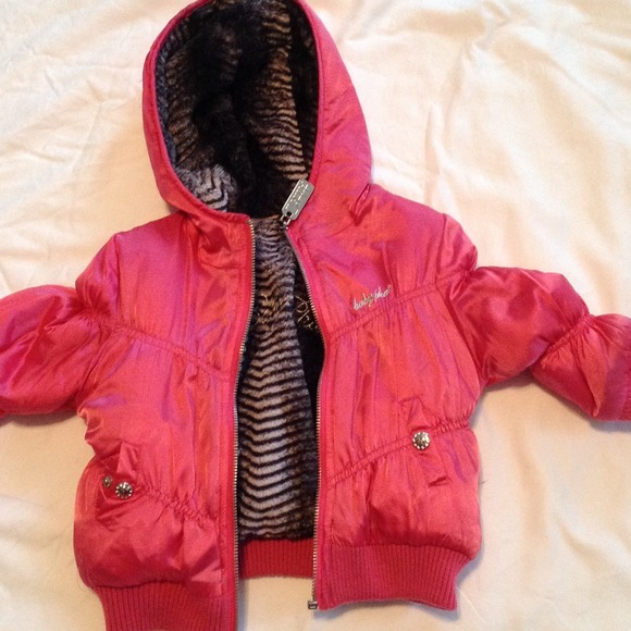 Baby Phat Jackets Amp Coats Hold Reversible Coat For