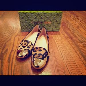 Brand new in box! Gianni Bini leopard flats- 8.5