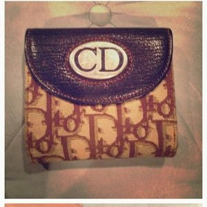 AUTHENTIC Christan Dior wallet