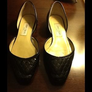 Jimmy Choo patten leather, Sz 39