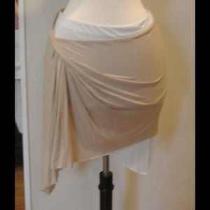 Reduced!! Helmut lang short drape skirt small