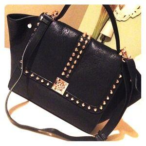 Melie Bianco Studded handbag