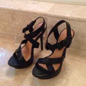 Authentic L.A.M.B. platform heels