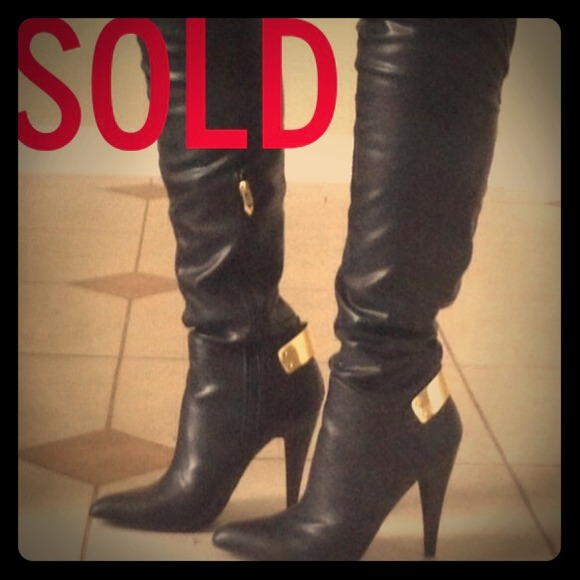 Fergie  Boots - SOLD!!! Fergie Rich Over The Knee Dress Boots!