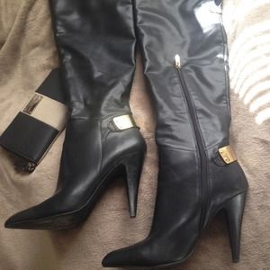 Fergie  Shoes - Fergie Rich Over The Knee Dress Boots!