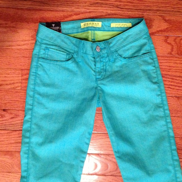 e4408d32959b3 Guess Pants   New Candy Color Collection Skinny Jeans   Poshmark